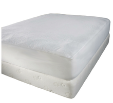 Mattress Protector - Extra Thin Waterproof Cover is Resistant to Fluids, Dust Mites and Other Allergens - Fitted Sheet Style Pad