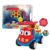 Cute soft rubber free wheel baby toy car toy vehicle cartoon truck with CE certificate
