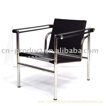 Basculant chair lc1 by le corbusier buy basculant chair lc1 by le corbusier lc1 chair - Le corbusier sedia ...