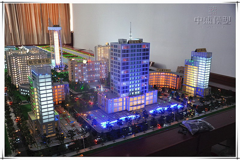 Miniature city plan model master planning model maker city planning building model buy Building layout maker