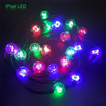 pixel 50mm 60 degree view led dmx christmas lights 3 for disco wall decorations