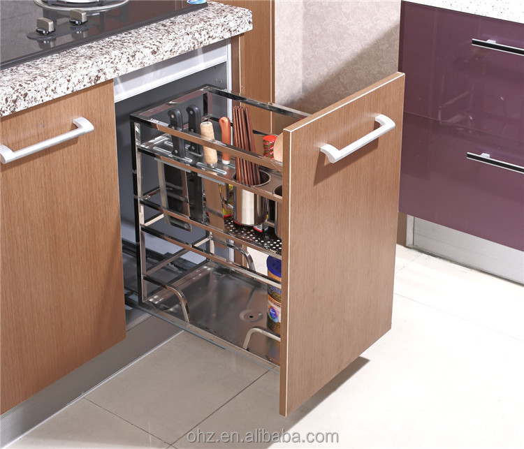 Home Choice Stainless Steel Kitchen Cabinet Pull Out Storage