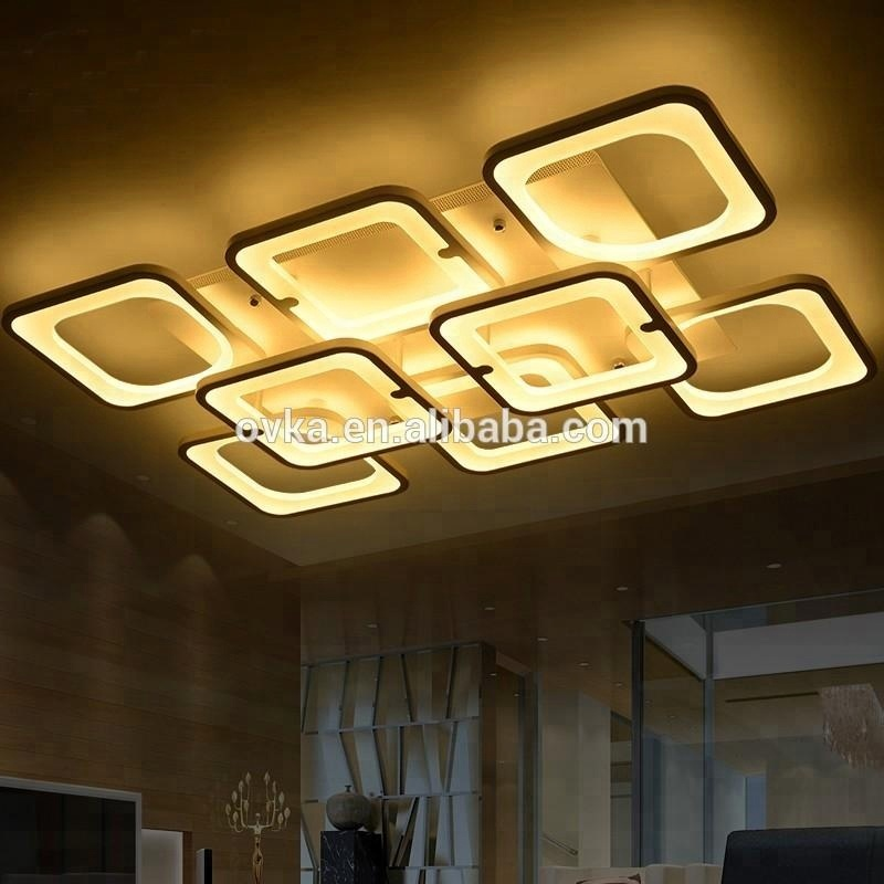 2018 Hot selling 1.2M square lamp LED ceiling light for living room