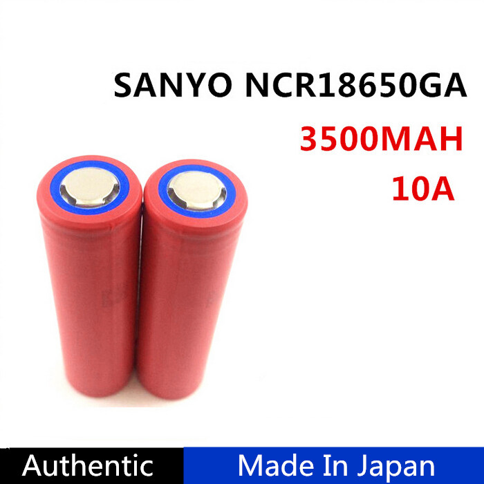 2016 Hot Sales High quality 3.7V 3500mah Sanyo rechargeable 18650 li ion battery
