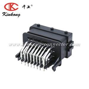 24 pin FCI male automotive pinhead PCB ECU connector