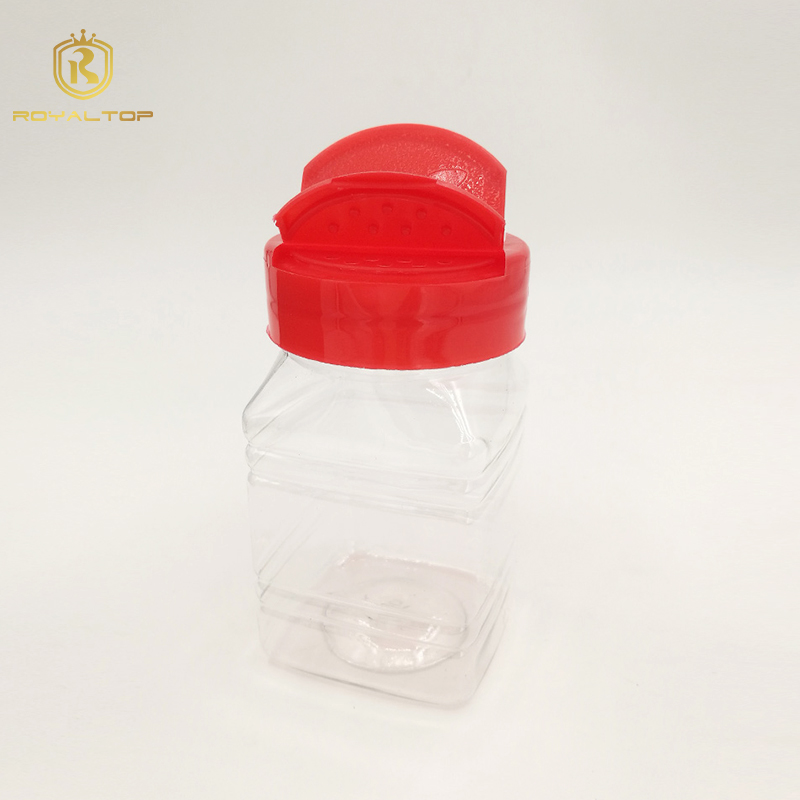 Attractive and durable bulk spice plastic jar
