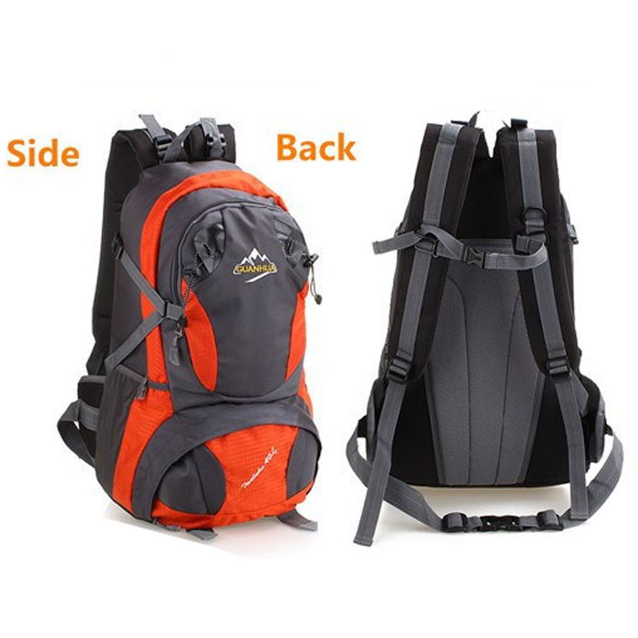 Men sport mountain top backpack bag