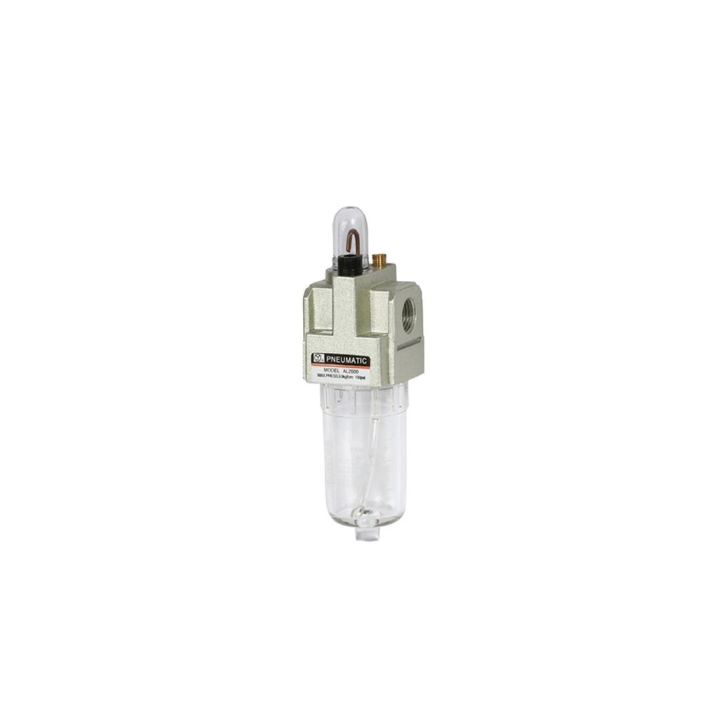 1//2 NPT SMC AL40-N04-3Z Lubricator 50 L//min Dripping Flow Rate Polycarbonate Bowl with Drain Cock 135 mL Oil Capacity