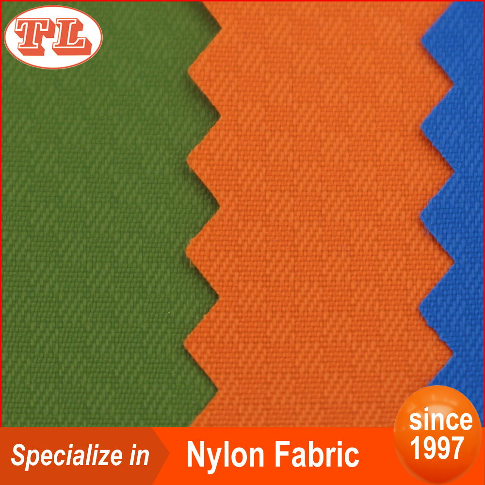 Wholesale ripstop <strong>nylon</strong> 70D vague plaid <strong>nylon</strong> fabric with pu coated