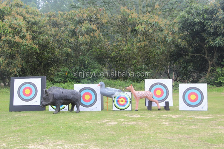 3D cube high density polyhedral bow and arrow foam target with 26 faces OEM