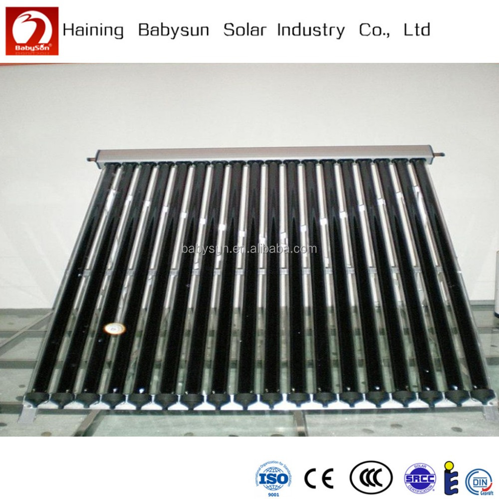 2015 best selling high pressure solar water heater collecter for swimming pool