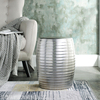 Sliver stripe home and garden decor porcelain stool from chinese