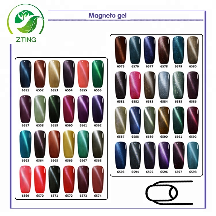 nails supplies cat eye magic uv gel nail polish 3d magnetic uv gel polish for nail salon