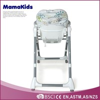 en 14988 approved multi function baby plastic swing high chair