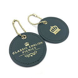 Custom nice luggage cardstock hang tag with your own logo