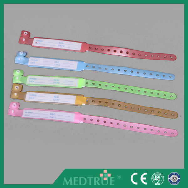 Very Cheap Medical Pediatric Use Identification Bracelet with Write-on With CE&ISO Certification (MT58038102)