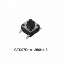 EPT CTS07D-A-250H4.3 6*6mm normally closed tact switch built in type tactile switch push button switch