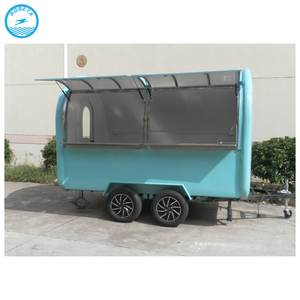 used coffee cart/sales trailer food mobile/french fries kiosk