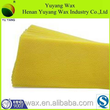 beekeeping equipment beeswax foundation heat resisting from China beekeeping supplies