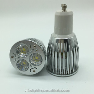 3x3w gu10 9w led spotlight with Edison led for field soccer