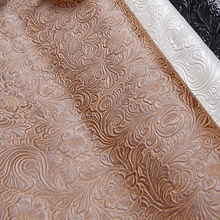 Classic car seat upholstery leather fabric