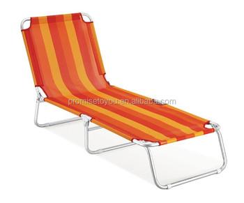 Lit Lit Longue Aluminium Extérieur Plage Plage Pliant De Portatif En Chaise Chaise Longue Longue Buy Chaise Chaise Pliante Longue Soleil 5Rj34AL