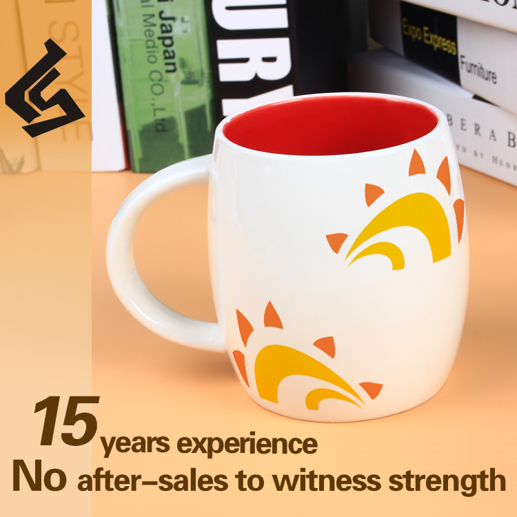 High quality cheap ceramic mug decal print with low price