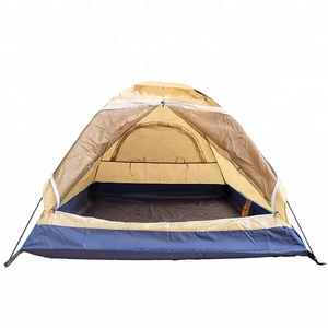 Double Layer 2 Person 3-Season Lightweight Camping/Traveling Tent with Carry Bag