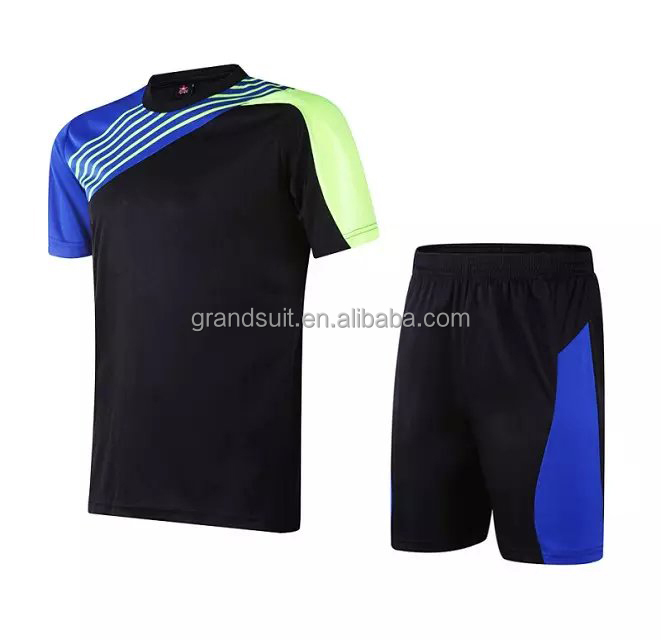 high quality blank soccer jersey set wait for custom your logo ,in stock football uniform bulk price avaliable