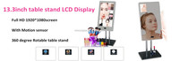 13.3in table stand cosmetic makeup interactive mirror / magic mirror