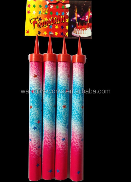 12cm 45s indoor fireworks sparkler birthday candle for birthday party