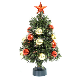 12v Car seven color USB desk Christmas Tree
