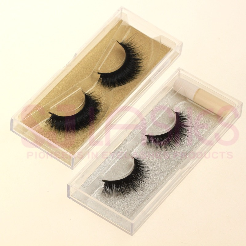 5a1e92a7af8 Own Brand/Private Label Fur Material and Semi-Hand Made Type High End False  Eyelashes
