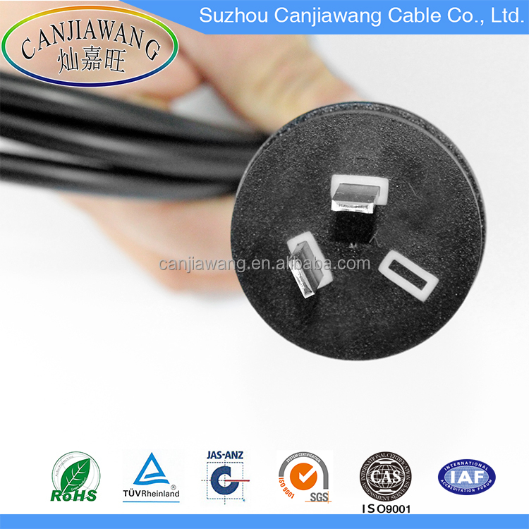 Factory Price SAA Approved 1.83M Australian 2 Pin AC Power Cord