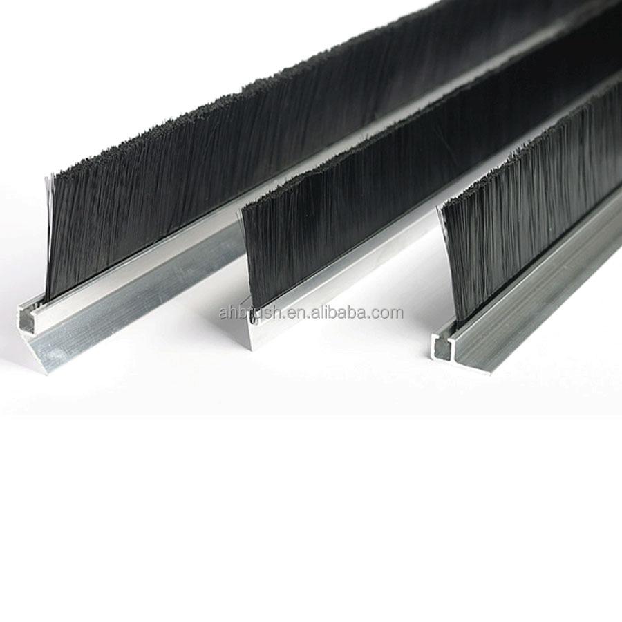 Flexible Aluminum Door Weather Strip Brush From