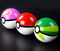 wholesale 7cm ABS Pokemon Ball with figure toy For Kids, Pokemon go toy pokeball 5cm dia in stock