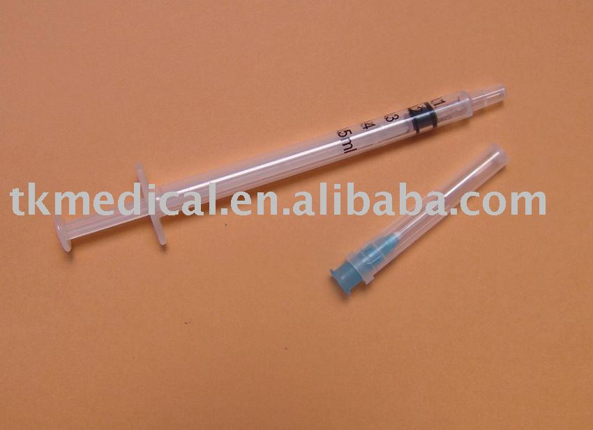 """Auto Disable Syringes 2ml With Fixed Needle 23g"""""""