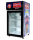 Countertop Locking Mini Display Cooler Glass Door Refrigerator
