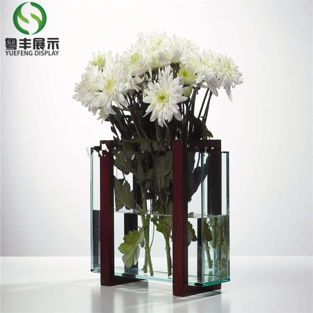 factory direct selling acrylic glass vase