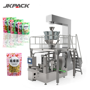 Automatic multi lanes screw soybean oatmeal soybean macaroni chickpea ground coffee creamer packing machine for chip