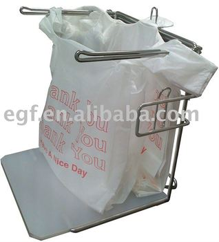 T Shirt Bag Rack Stand Dispenser