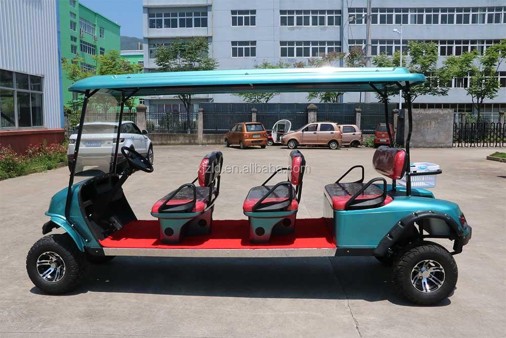 China Utiliza 6 Plazas Carrito De Golf Para La Venta Y Usado De Golf ...