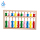 YF-M204 colorful bead abacus wooden toy for kids preschool math counting