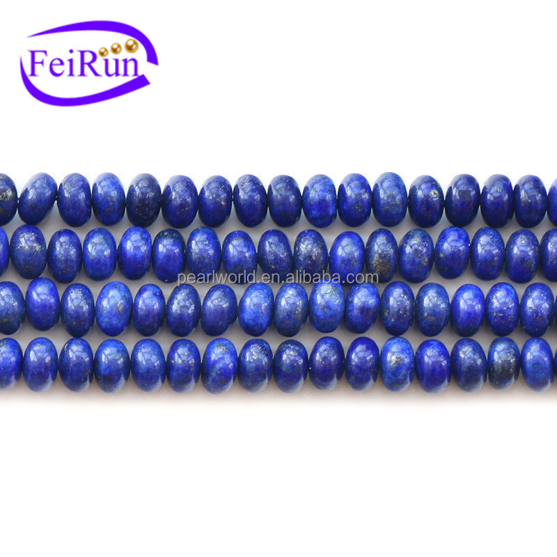 FEIRUN 4*6 &5*8mm DIY fashion synthetic lapis lazuli beads, lapis lazuli wholesale