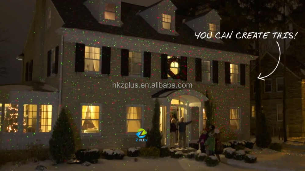 Outdoor Laser Lights Uk Holographic Projector Laser Christmas ...