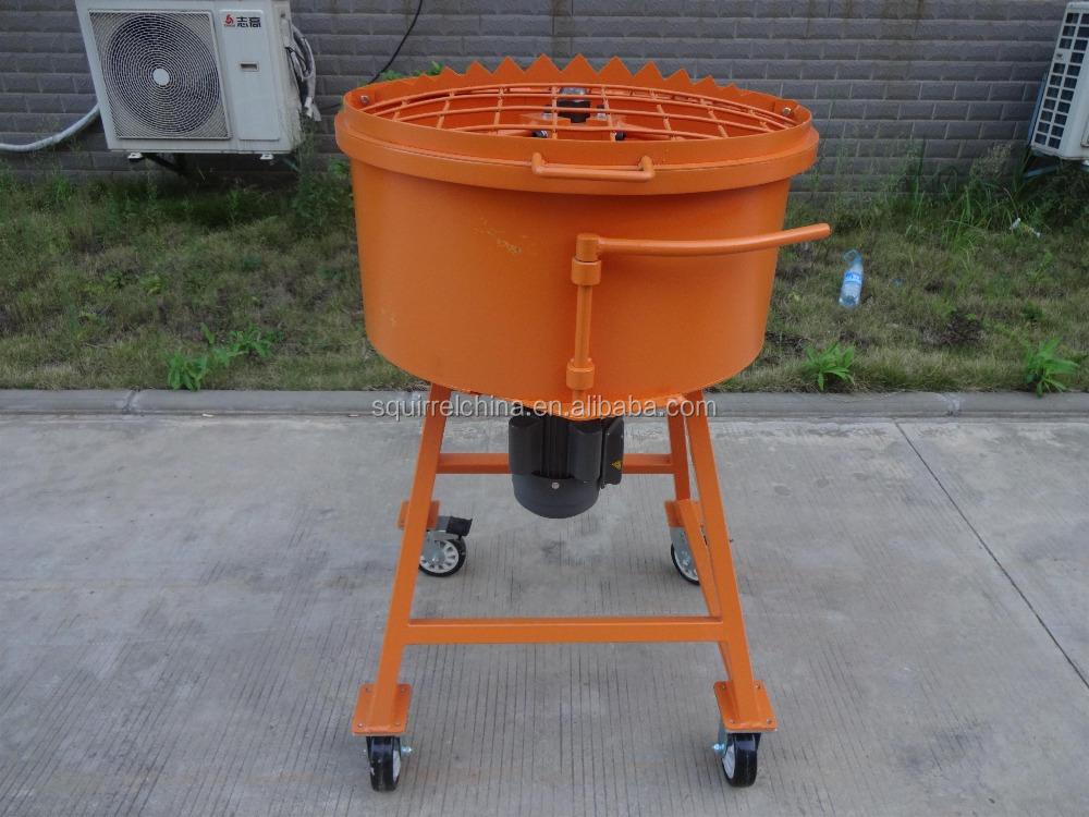 Electric Pan Concrete Mixer Buy Portable Concrete Mixer