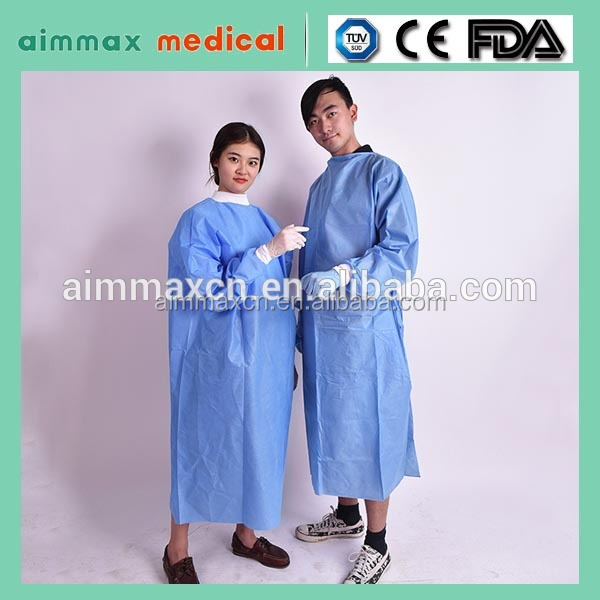 Disposable Medical Gown Office Gown For Ladies