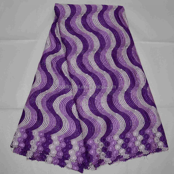AG4521#7 High quality voile lace fabric nigerian 2015