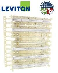 Leviton 41AW2-300 GigaMax 5e 110-Style Wall Mount Wiring Block w/ legs 300-Pair (Pkg of 10)