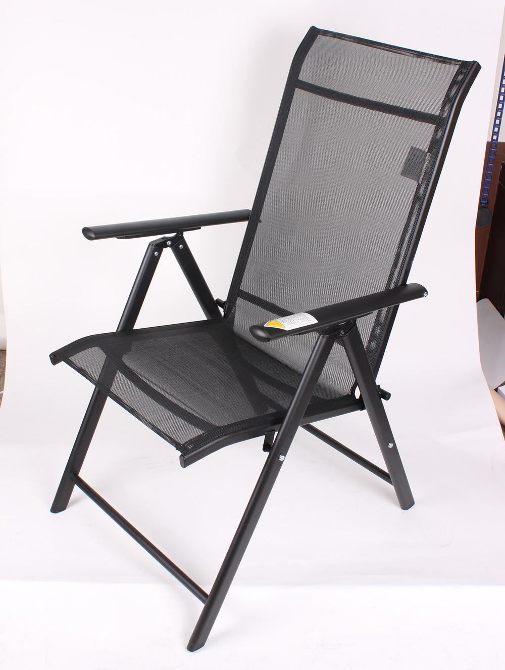 Massage Cushion Chair Folding Aluminum Seven Position